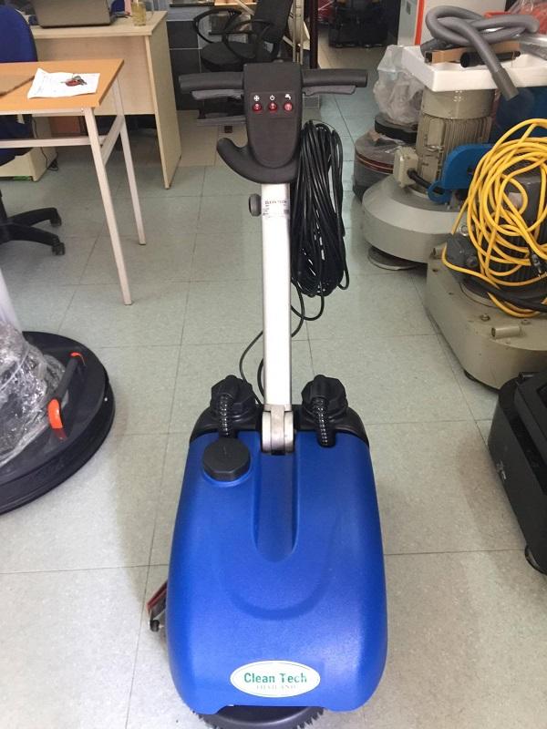 Dòng máy chà sàn Clean Tech CT 198 liên hợp đẩy tay