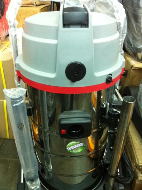 Máy giặt thảm ghế phun hút công nghiệp EURO MAC  ERM 602W